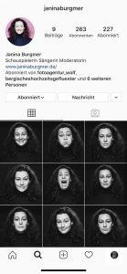 Janina Burgmer Instagram Acount
